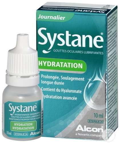 systane hydratation gouttes oculaires lubrifiantes 10ml.2000